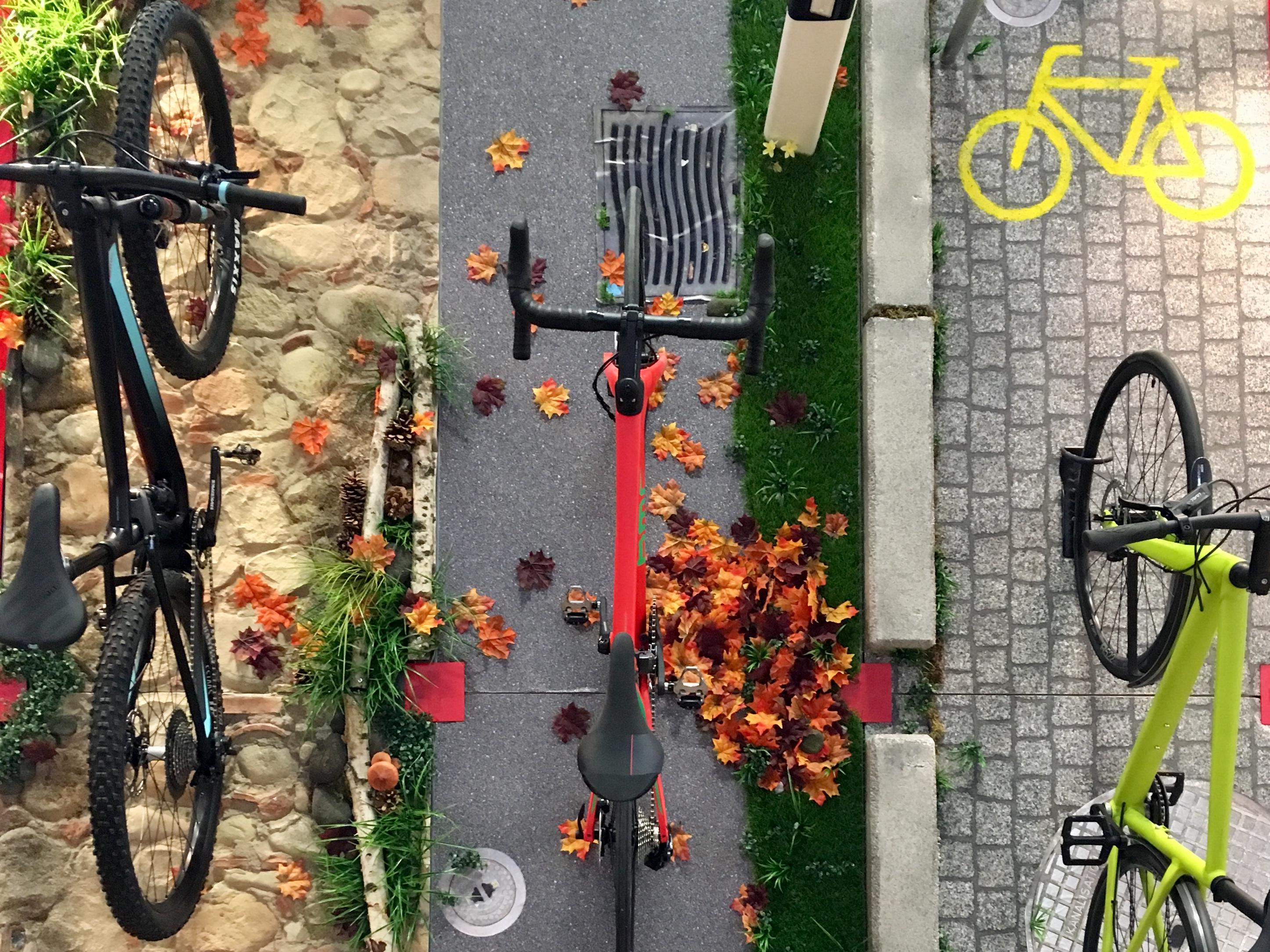 Schweiz Tourismus hat es verstanden und ein Rennrad mitgebracht...